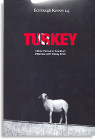 Cover for Edinburgh Review Issue 125 Turkey